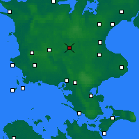 Nearby Forecast Locations - Ringsted - карта