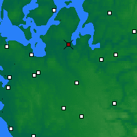 Nearby Forecast Locations - Skive - карта