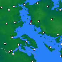 Nearby Forecast Locations - Assens - карта