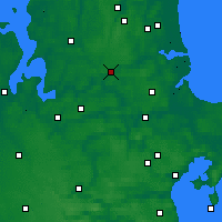 Nearby Forecast Locations - Hobro - карта