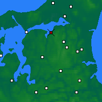 Nearby Forecast Locations - Nibe - карта