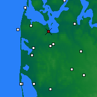 Nearby Forecast Locations - Струер - карта