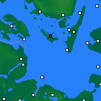 Nearby Forecast Locations - Ærøskøbing - карта