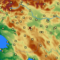 Nearby Forecast Locations - Borovnica - карта