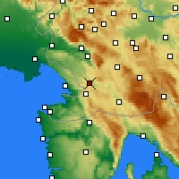 Nearby Forecast Locations - Divača - карта