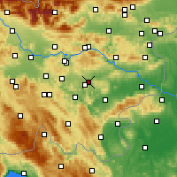 Nearby Forecast Locations - Dol pri Ljubljani - карта