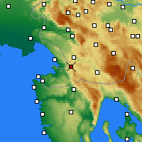 Nearby Forecast Locations - Hrpelje - карта