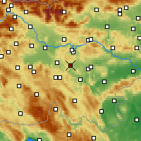 Nearby Forecast Locations - Ivančna Gorica - карта