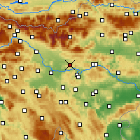 Nearby Forecast Locations - Moravče - карта