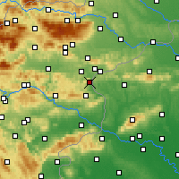 Nearby Forecast Locations - Podčetrtek - карта