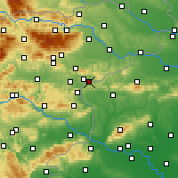 Nearby Forecast Locations - Rogatec - карта