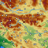 Nearby Forecast Locations - Tržič - карта