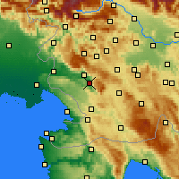 Nearby Forecast Locations - Випава - карта