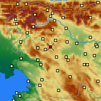 Nearby Forecast Locations - Žiri - карта