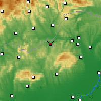 Nearby Forecast Locations - Озд - карта