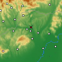 Nearby Forecast Locations - Эделень - карта