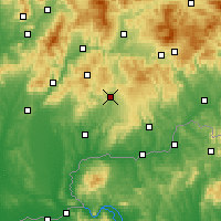 Nearby Forecast Locations - Крупина - карта