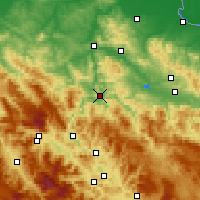 Nearby Forecast Locations - Zavidovići - карта