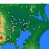 Nearby Forecast Locations - Мацудо - карта