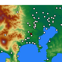 Nearby Forecast Locations - Матида - карта