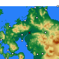 Nearby Forecast Locations - Куруме - карта
