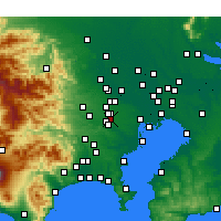 Nearby Forecast Locations - Митака - карта