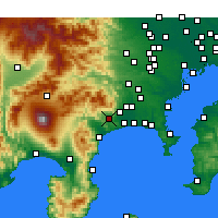 Nearby Forecast Locations - Хадано - карта