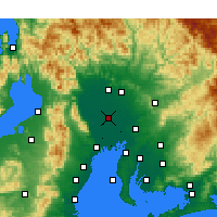 Nearby Forecast Locations - Инадзава - карта