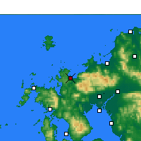 Nearby Forecast Locations - Карацу - карта