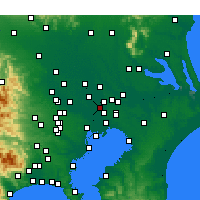 Nearby Forecast Locations - Мисато - карта