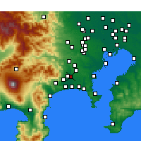 Nearby Forecast Locations - Эбина - карта