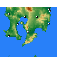 Nearby Forecast Locations - Каноя - карта
