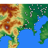 Nearby Forecast Locations - Исехара - карта
