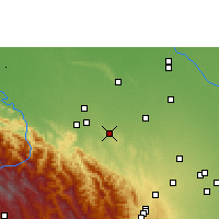 Nearby Forecast Locations - Buena Vista - карта