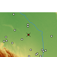 Nearby Forecast Locations - Saavedra - карта