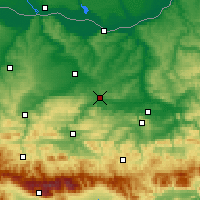 Nearby Forecast Locations - Павликени - карта