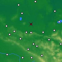 Nearby Forecast Locations - Раден - карта