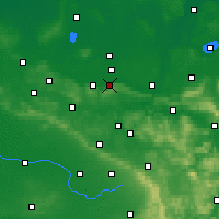 Nearby Forecast Locations - Люббекке - карта