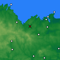 Nearby Forecast Locations - Ламбаль - карта