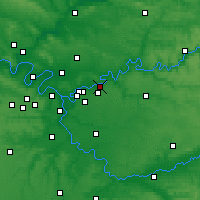 Nearby Forecast Locations - Lagny-sur-Marne - карта