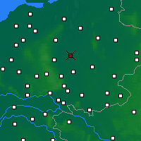 Nearby Forecast Locations - Девентер - карта