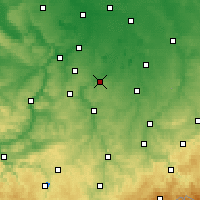 Nearby Forecast Locations - Цайц - карта