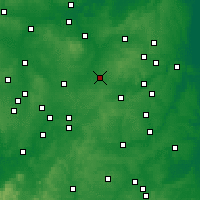 Nearby Forecast Locations - Wigston Magna - карта