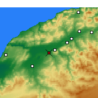 Nearby Forecast Locations - Djidioua - карта