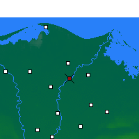Nearby Forecast Locations - Тальха - карта
