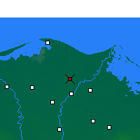 Nearby Forecast Locations - Билкас - карта