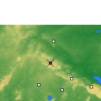 Nearby Forecast Locations - Mampong - карта