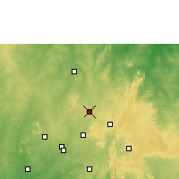 Nearby Forecast Locations - Оффа - карта