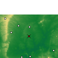 Nearby Forecast Locations - Isieke - карта