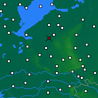 Nearby Forecast Locations - Зеволде - карта